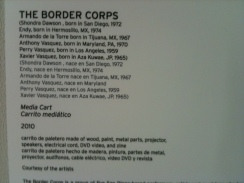 Border Corps_Paletero Cart - MOCA La Jolla_June 2010_06